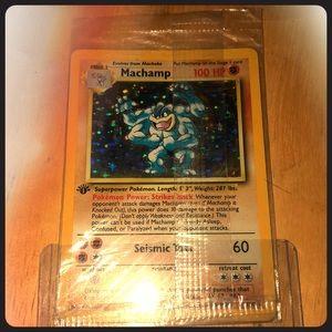 Other - Pokemon Cards - Unopened Machamp